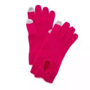 Kate Spade ♠️ Pink Bow 🎀 Tech Gloves 🧤 NWT